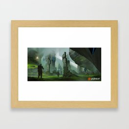 Troia Framed Art Print