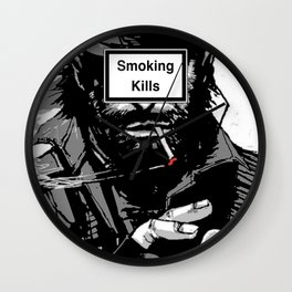 Smoking Kills Wall Clock