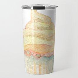 Ice Cream Yellow Travel Mug