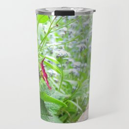 Forget-Me-Nots and Friends Travel Mug