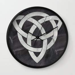 Celtic knot Wall Clock