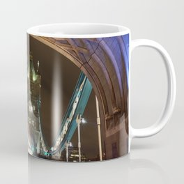 Tower Bridge Traffic Trail Coffee Mug