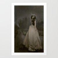 carmilla Art Prints featuring carmilla by nena suicide