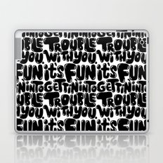 trouble Laptop & iPad Skin