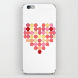 Circles of Love iPhone Skin