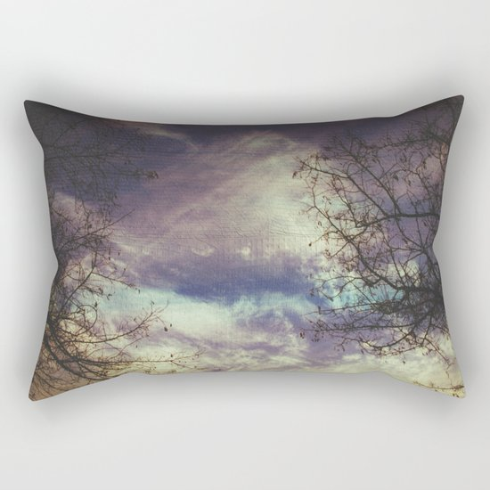 remember autumn Rectangular Pillow