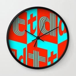 typodon Wall Clock
