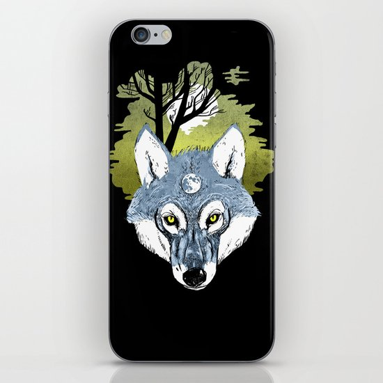Wolf Phase iPhone & iPod Skin