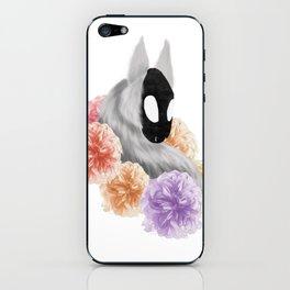 Flowered Demon iPhone Skin