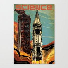 Apollo 1 Rocket Canvas Print