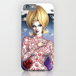 Mars Attacks Martian Girl iPhone Case
