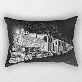 A nostalgic train Rectangular Pillow