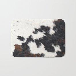 Brown Cowhide Bath Mat