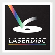 Obsolete Technology — LaserDisc Art Print