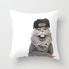For Mother Russia Throw Pillow