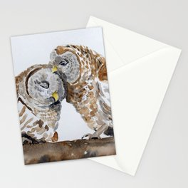 Owl always love you. Stationery Cards