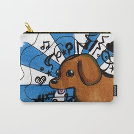 goofy dog Carry-All Pouch