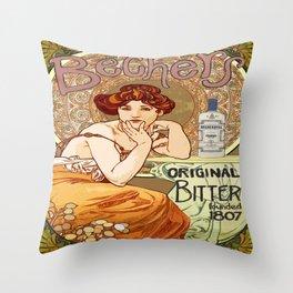 Becher's Original Throw Pillow