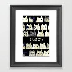 cat-45 Framed Art Print