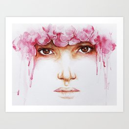 I Hide Myself Within My Flower Art Print