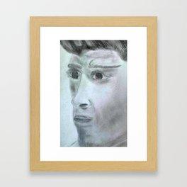 zen milk Framed Art Print
