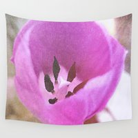 tulip Wall Tapestries featuring Tulip by J's Corner