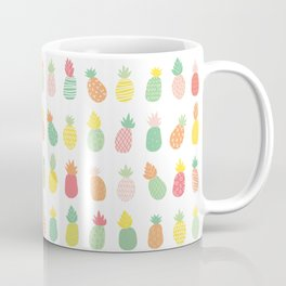 Summer Pineapples Coffee Mug