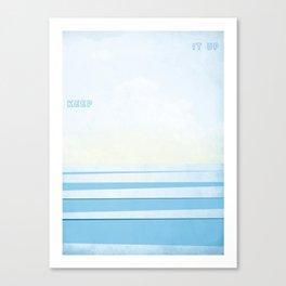 Keep It Up Canvas Print