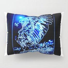 Bird Models: Magnified Eagle 01-01 Pillow Sham