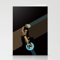 engineer Stationery Cards featuring The Engineer by Florey