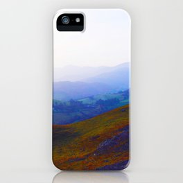 Land of Legends - Blue, Green and Purple iPhone Case