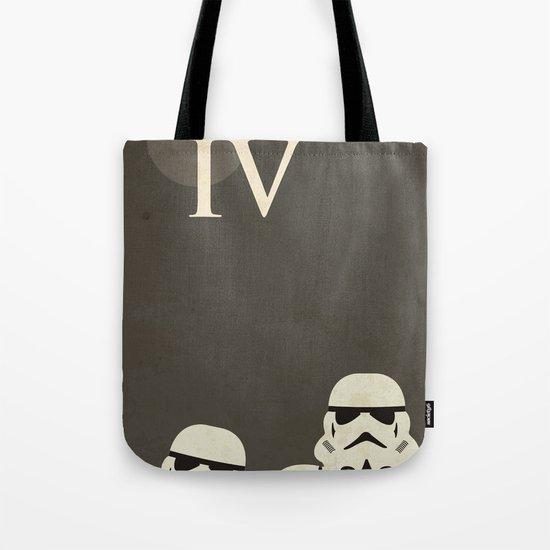 Star Wars Minimal Movie Poster Tote Bag