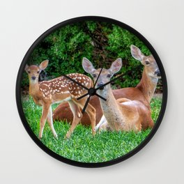 Mary, Marcella, and Little Marie Wall Clock