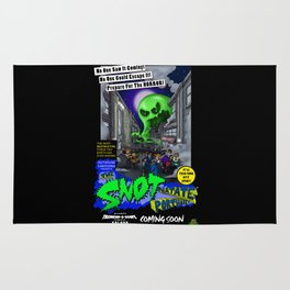 The Snot That Ate Port Harry poster Rug