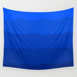 Endless Sea of Blue Wall Tapestry