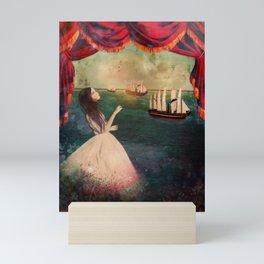 claire voyance Mini Art Print