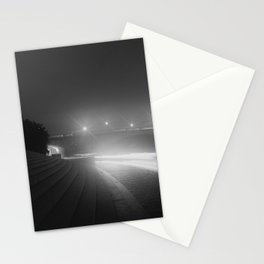 Ohio Drive and the Arlington Memorial Bridge at night Stationery Cards