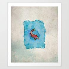 Small Fish. Small Pond. Art Print