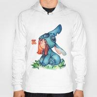 stitch Hoodies featuring stitch  by cynamon