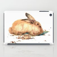 bunny iPad Cases featuring Bunny by Ivanushka Tzepesh