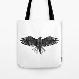 Black Bird White Sky Tote Bag