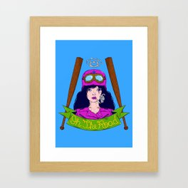 Dangerous Girls - Biker Framed Art Print