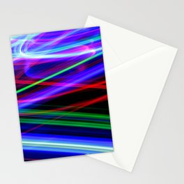 Disco Lights Stationery Cards