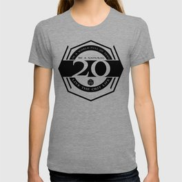 D20 Crit Life Be a Nat 20 T-shirt