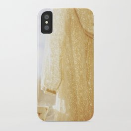 lace and rosebuds iPhone Case
