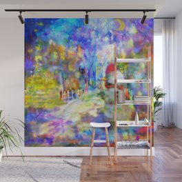 Be Happy in New 2016 Year ! Wall Mural