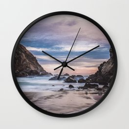 The Ocean Stirs The Heart Wall Clock