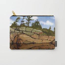 Rocks on Rocks Carry-All Pouch