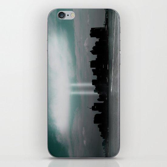 Renewal - New York City skyline iPhone Skin