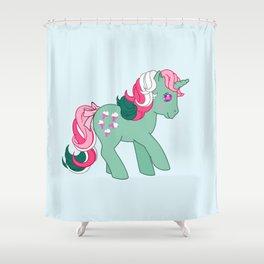 g1 my little pony Fizzy Shower Curtain